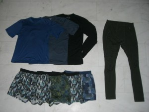 Ultralight clothing basics