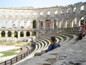 Pula amphitheater, Croatia