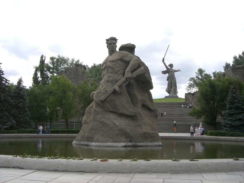 Stalingrad memorial, Volgograd, Russia