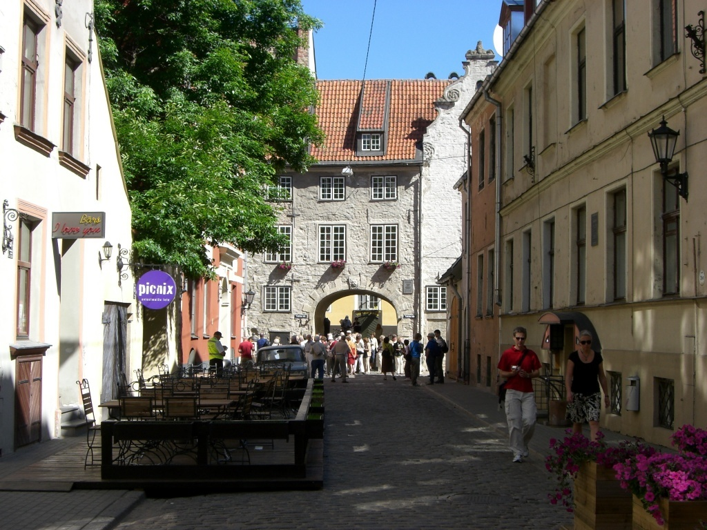 Swedish Gate, Riga, Latvia