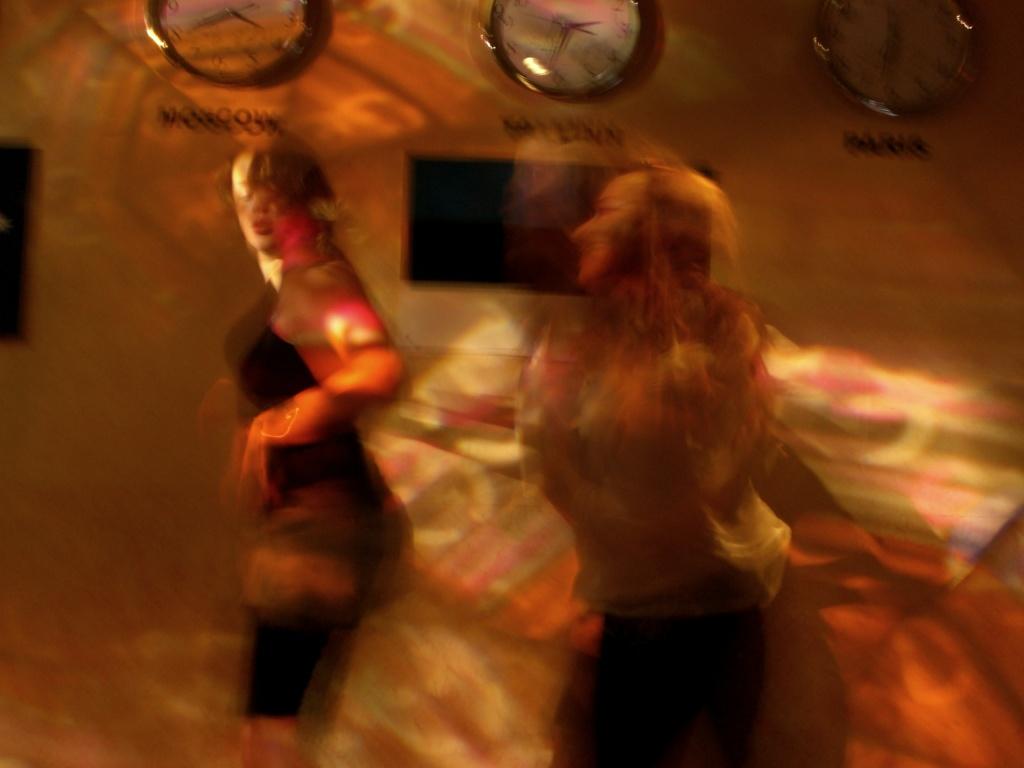 Minor dancefloor mayhem in Tallinn, Estonia.