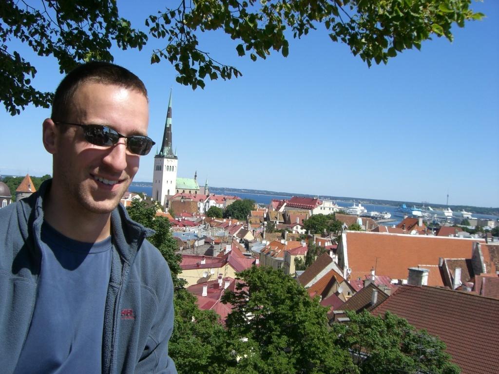 Me in Tallinn, Estonia