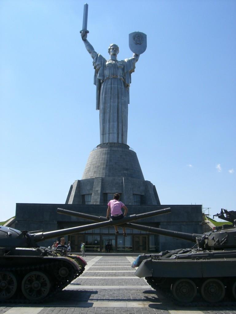 Rodina Mat, Mother Motherland, Kiev, Ukraine