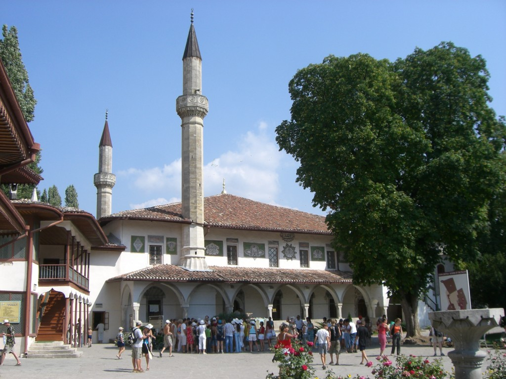 Crimean Tatar Khan Palace in Bakhchisaray