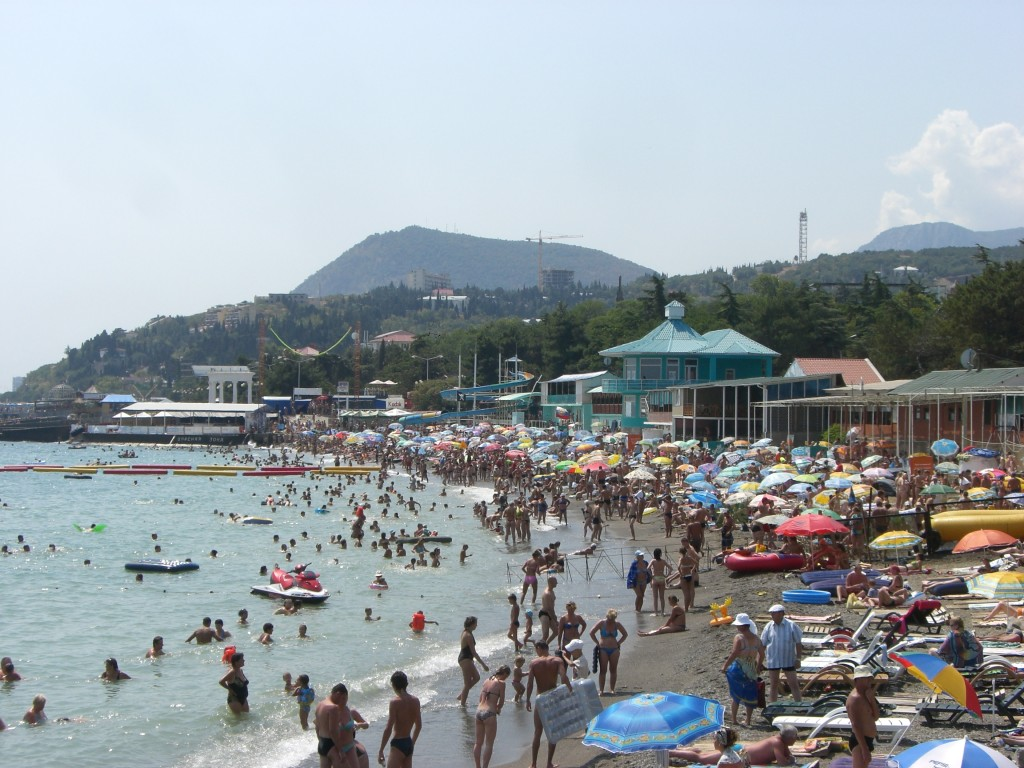 Beaches in the Crimea, Ukraine