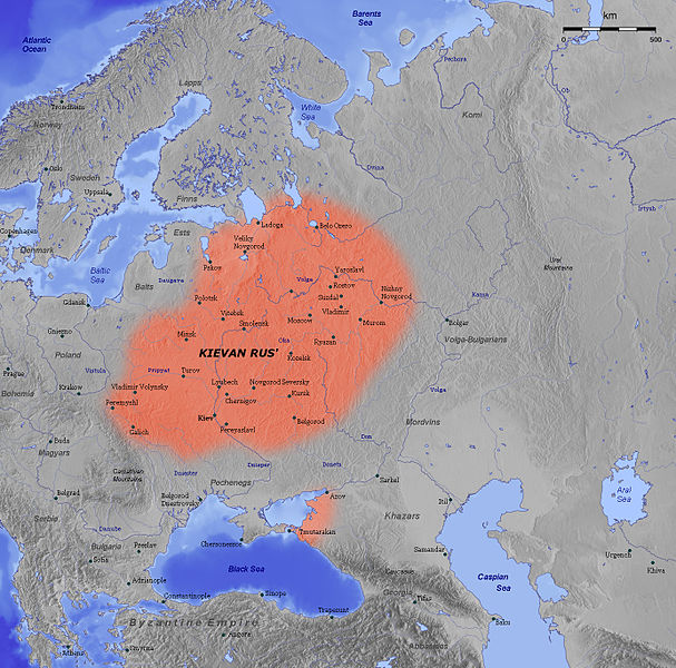Kievan Rus, 11th century
