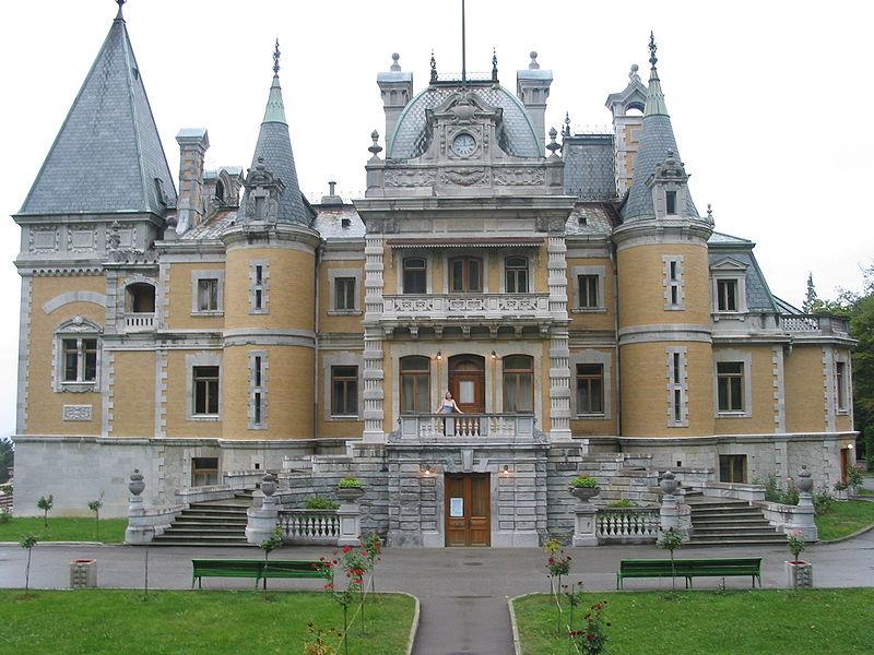 Massandra Palace, Crimea, Ukraine