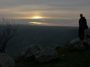 Moldova sunset