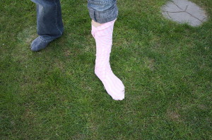 Portyanki footwrap