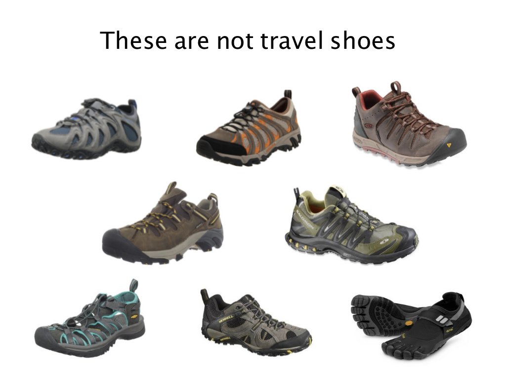 So-called travel shoes for men