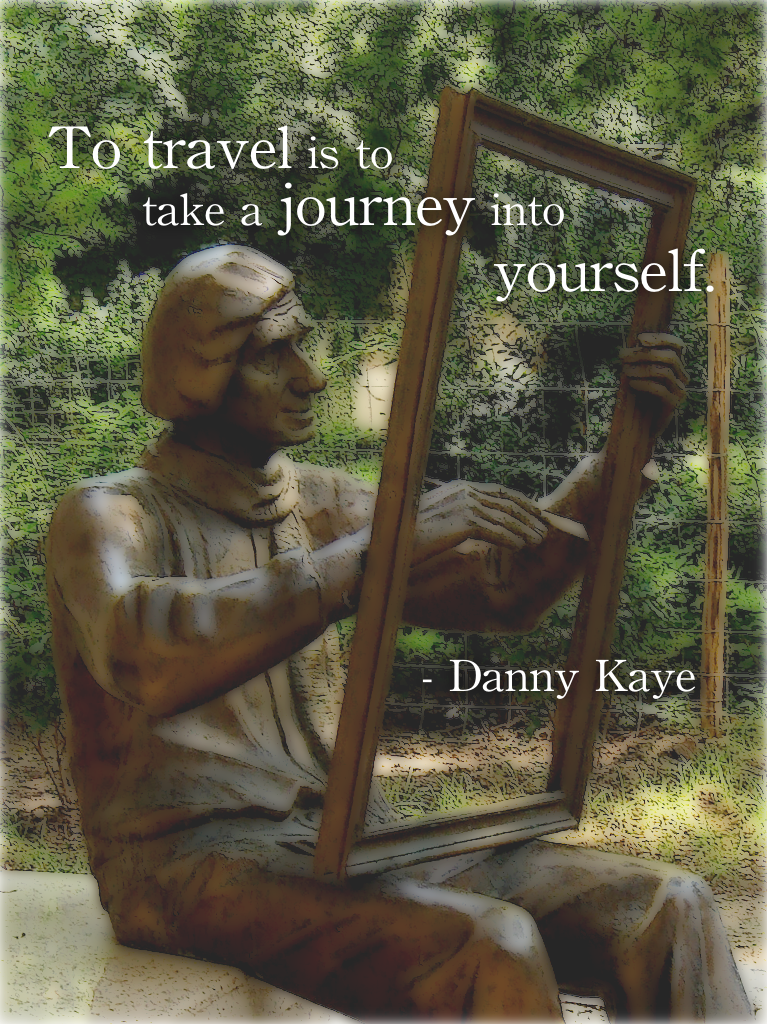 Travel quotes, Danny Kaye