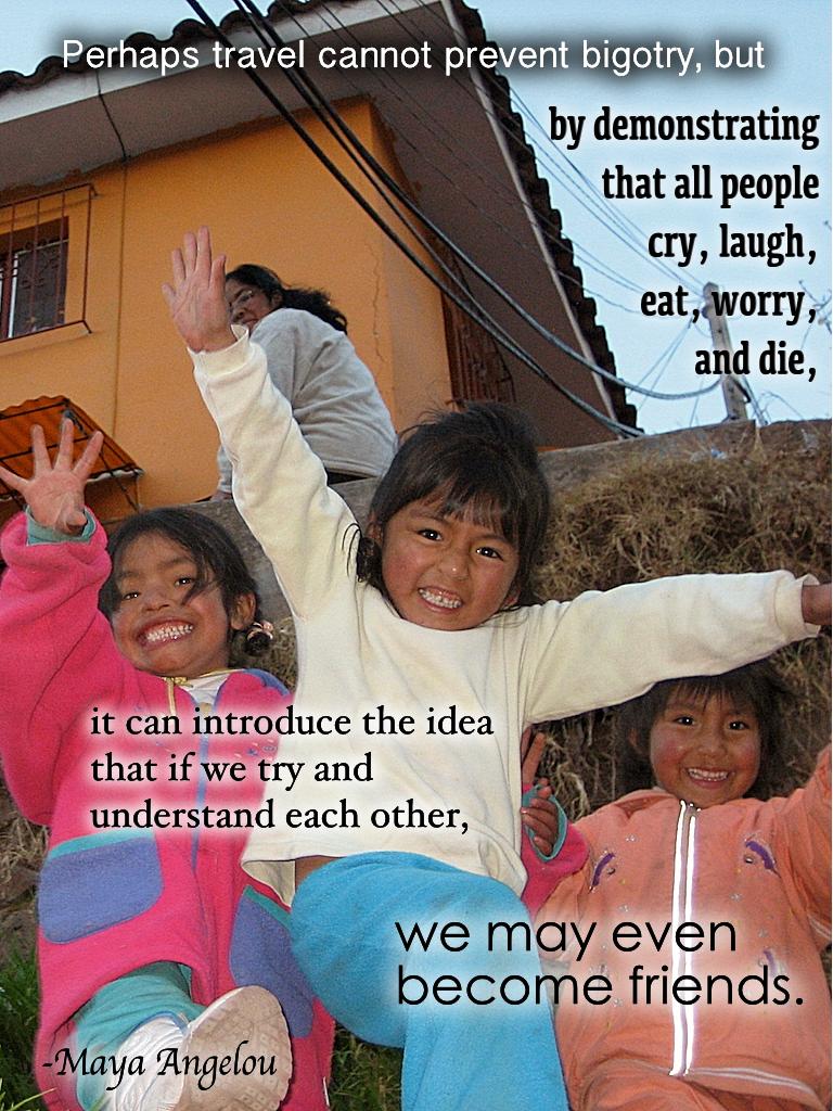 Travel quotes, Maya Angelou