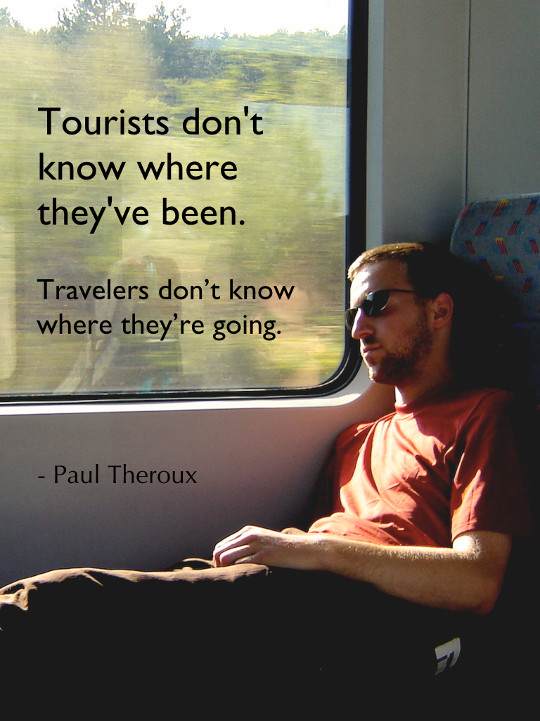 Travel quotes, Paul Theroux