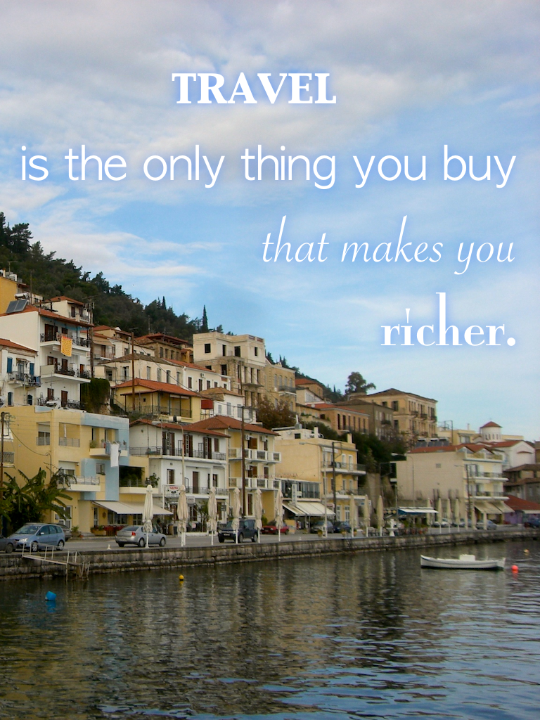 Travel quotes, travel makes you richer