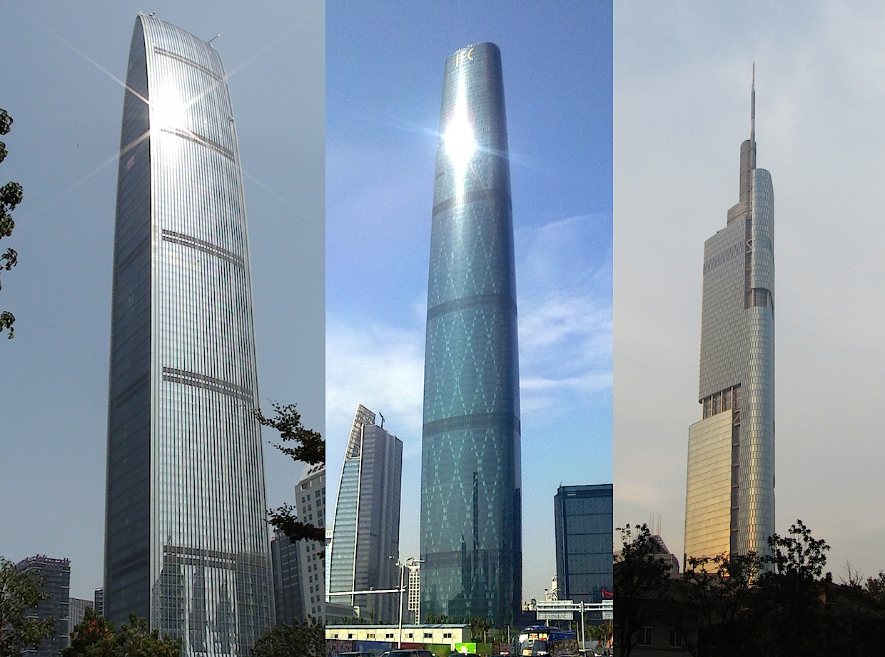 Chinese Skyscrapers