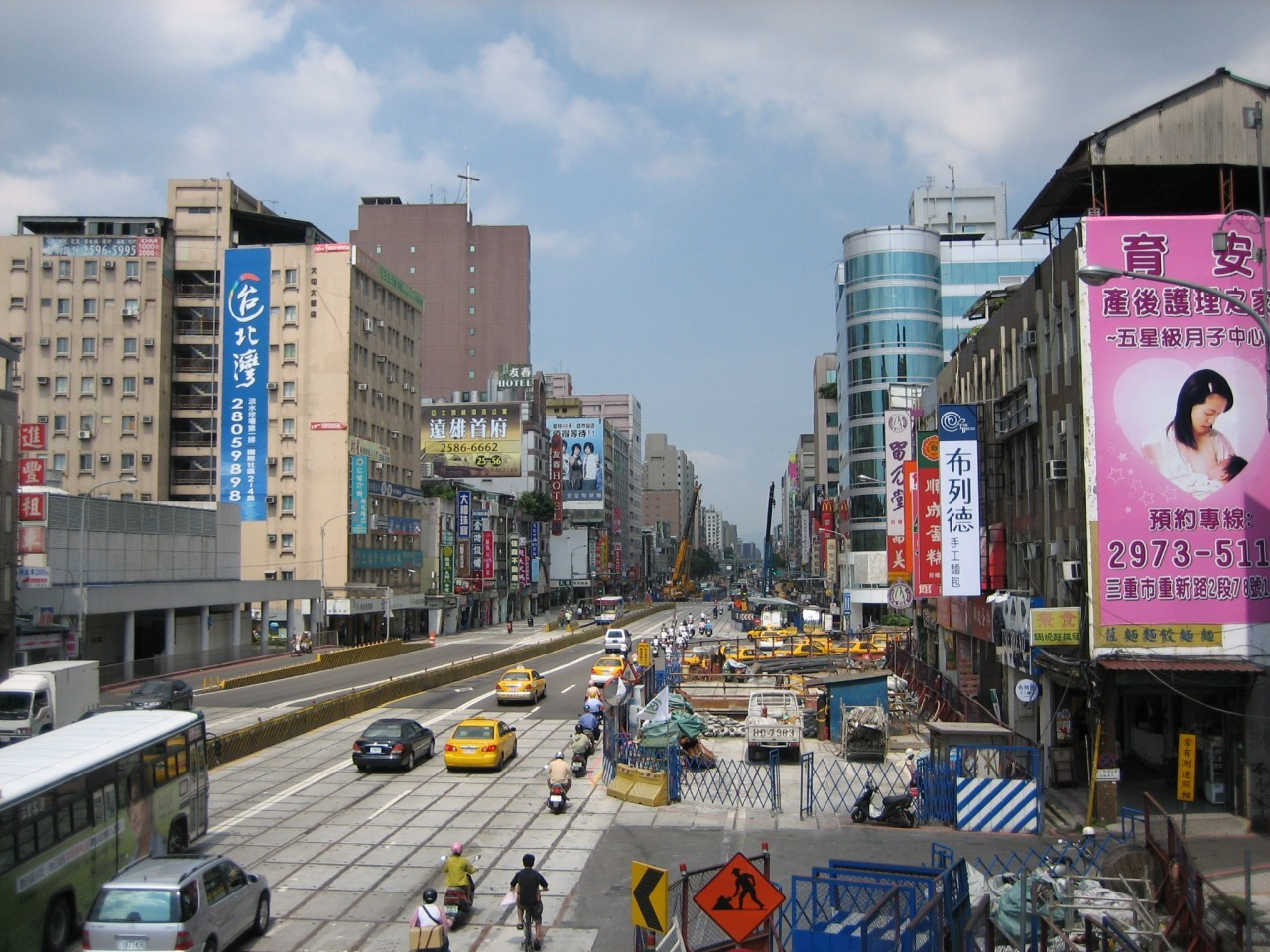 Streets in Taiwan