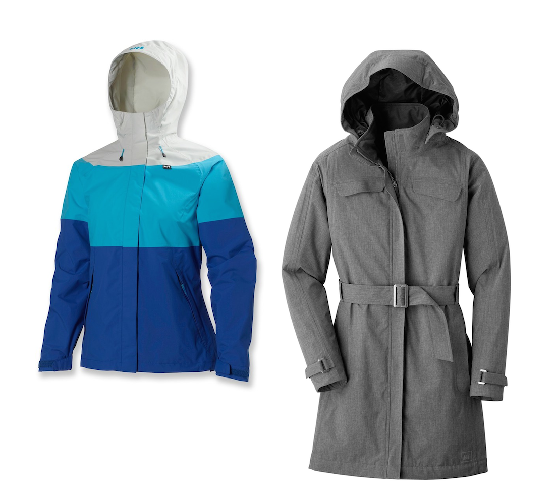 Helly Hansen Vancouver Tri-Color vs REI La Selva Jacket