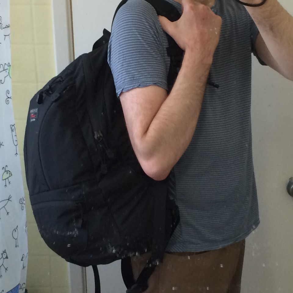 Central America packing list, fully packed