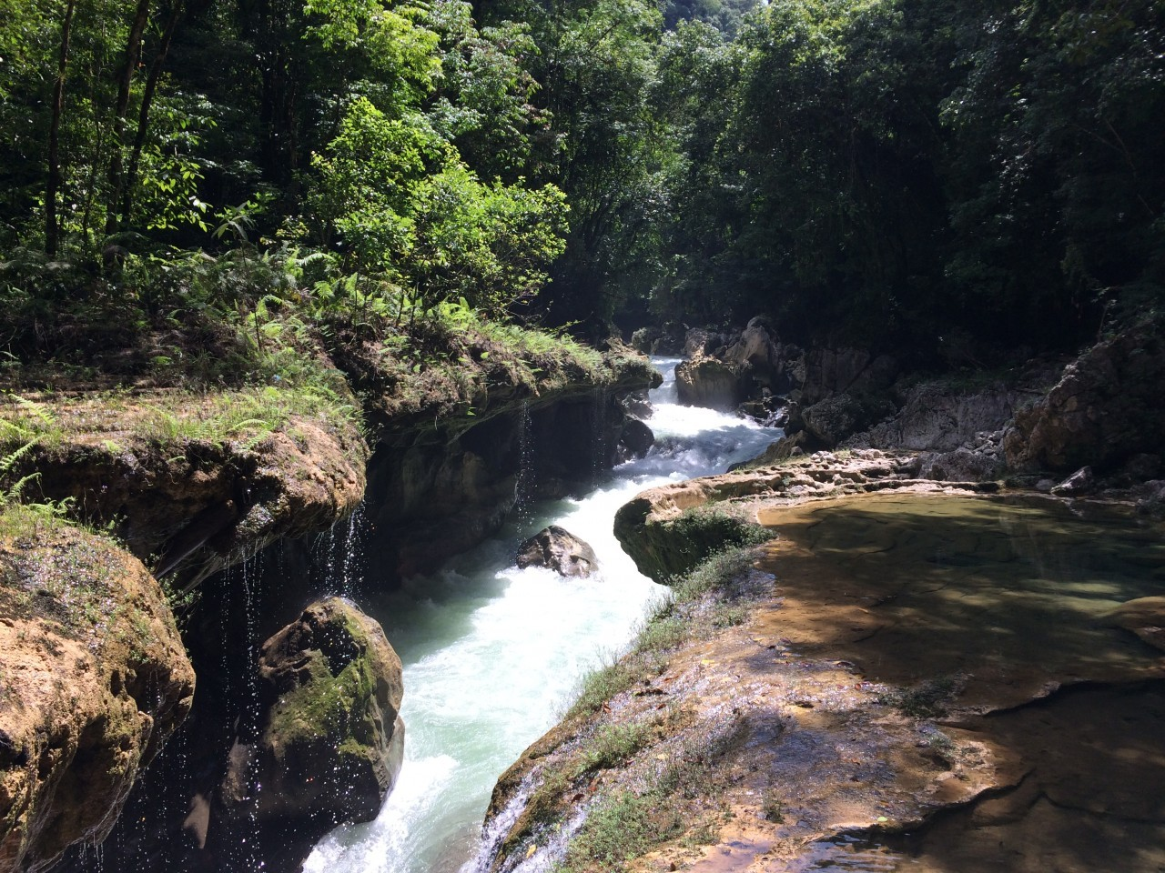 River in Semuc Champey