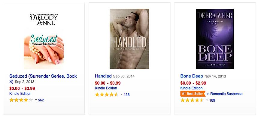 Kindle Unlimited sample books
