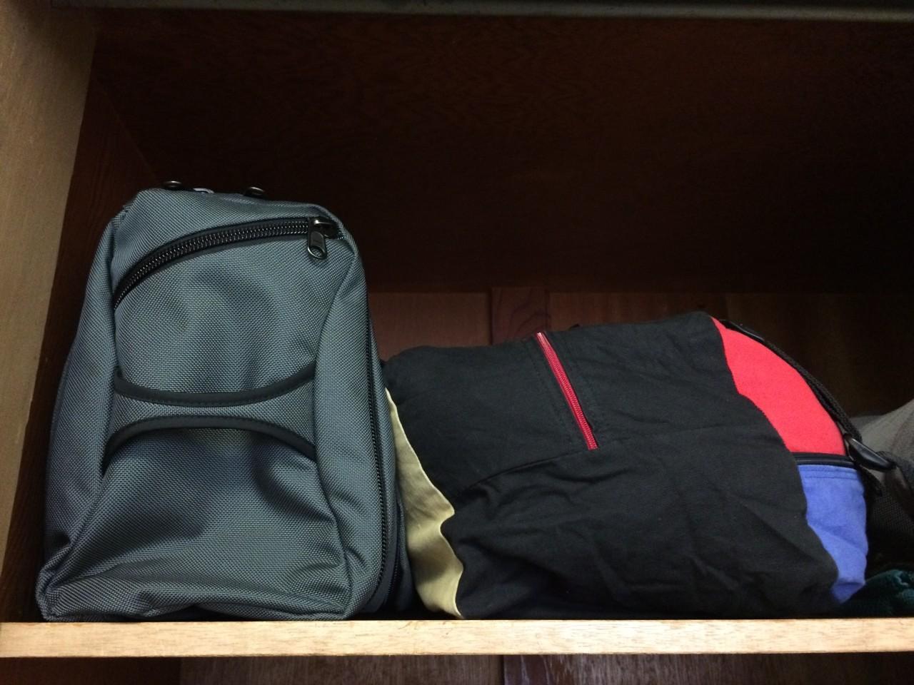 Duffel bags overhead bin comparison