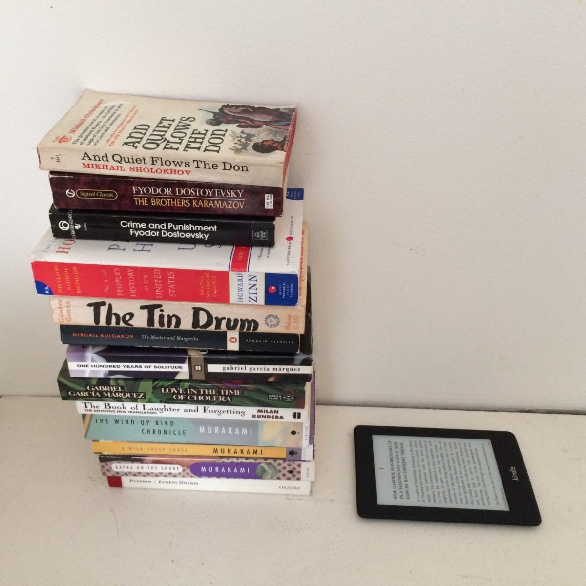 Kindle portability