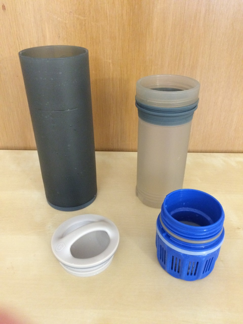 Grayl Ultralight components