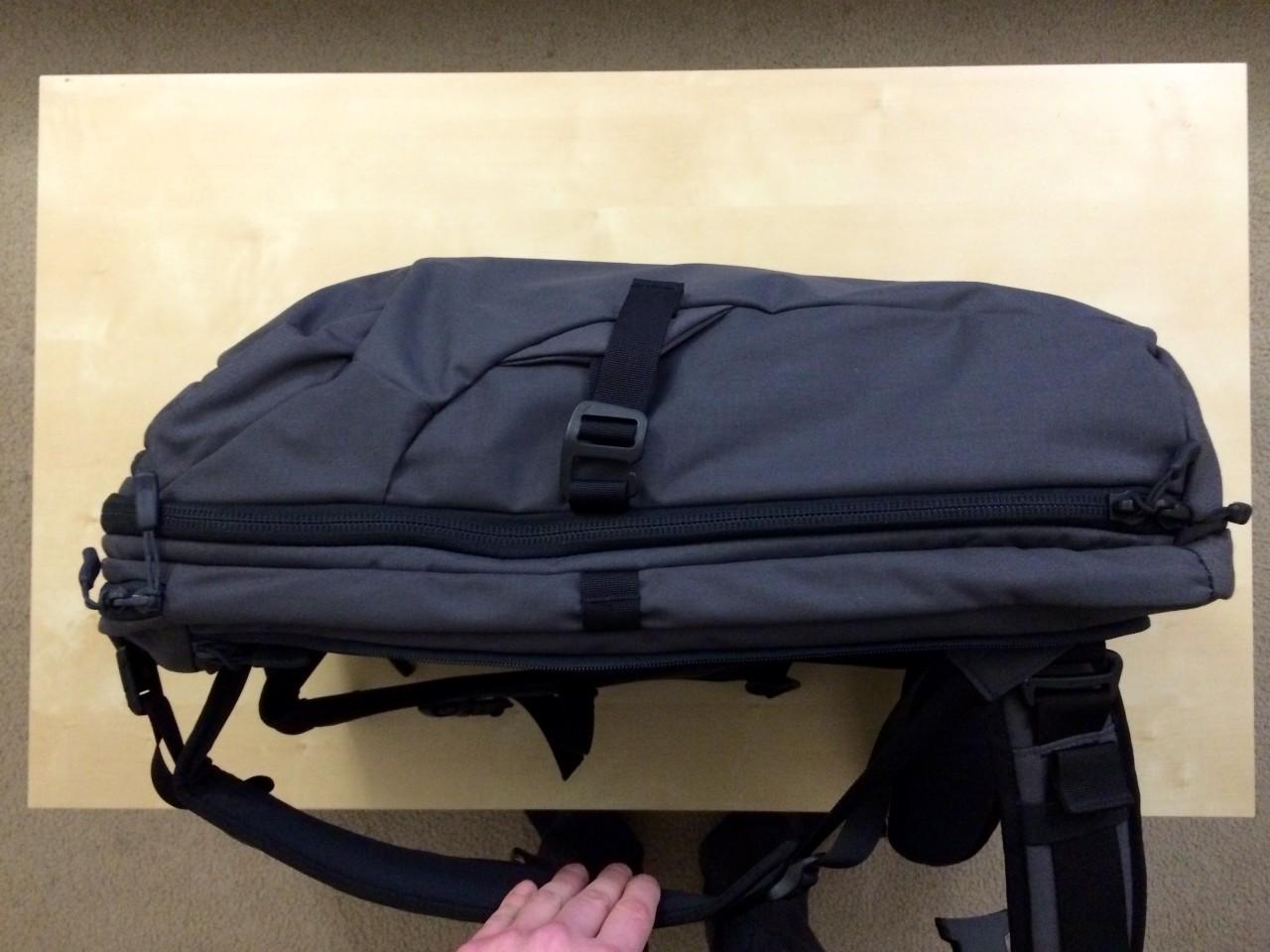 Minaal backpack blank side view