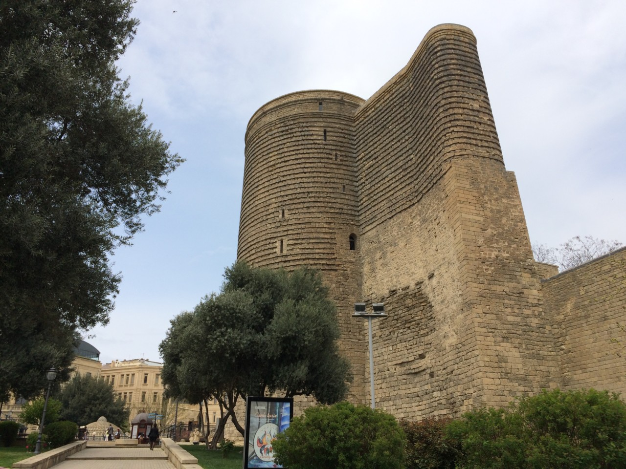 Maiden Tower of Baku