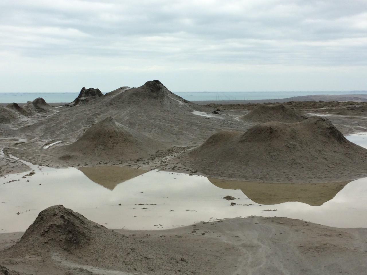 More mud volcanoes