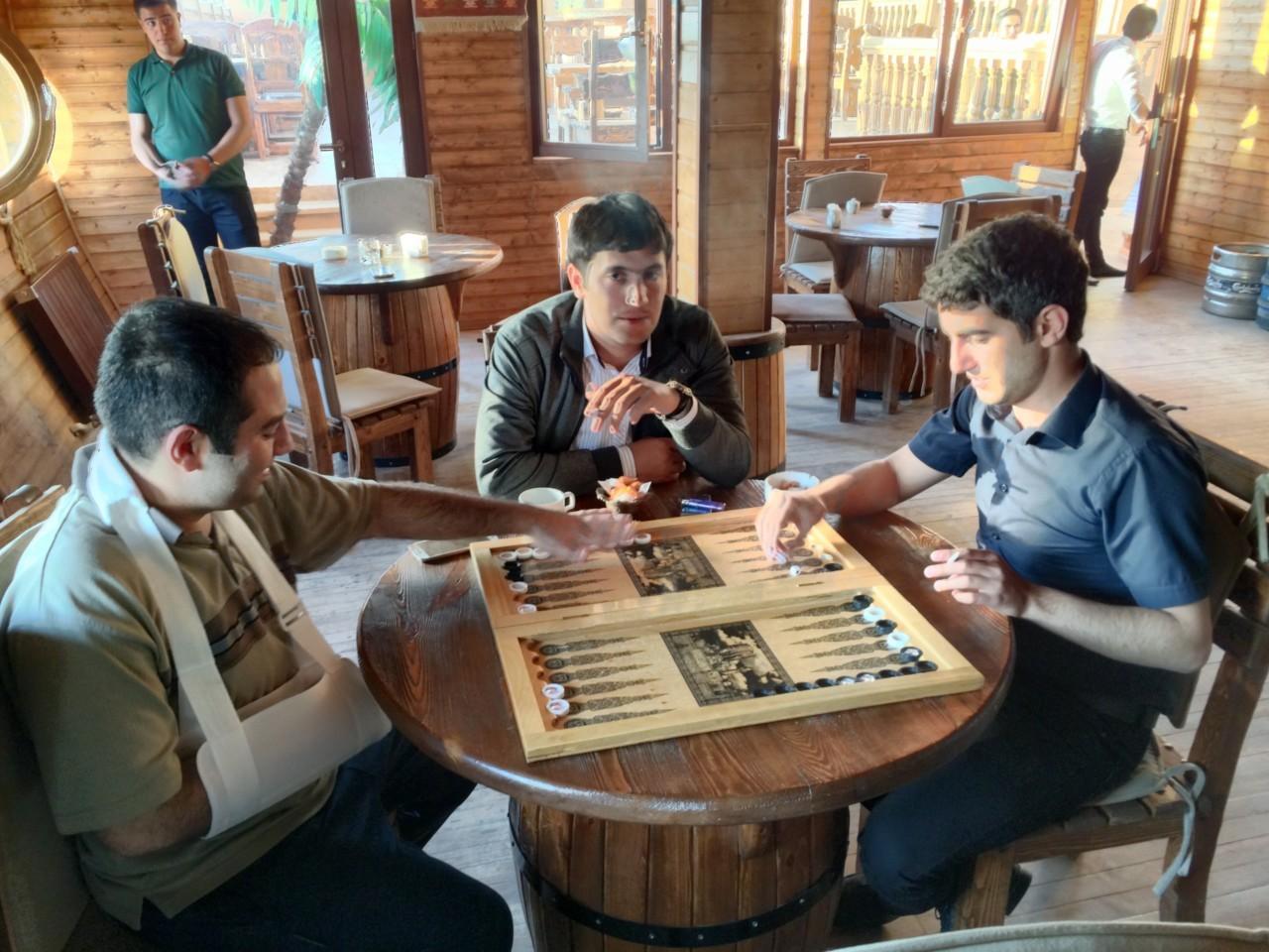 Backgammon in Nakhchivan