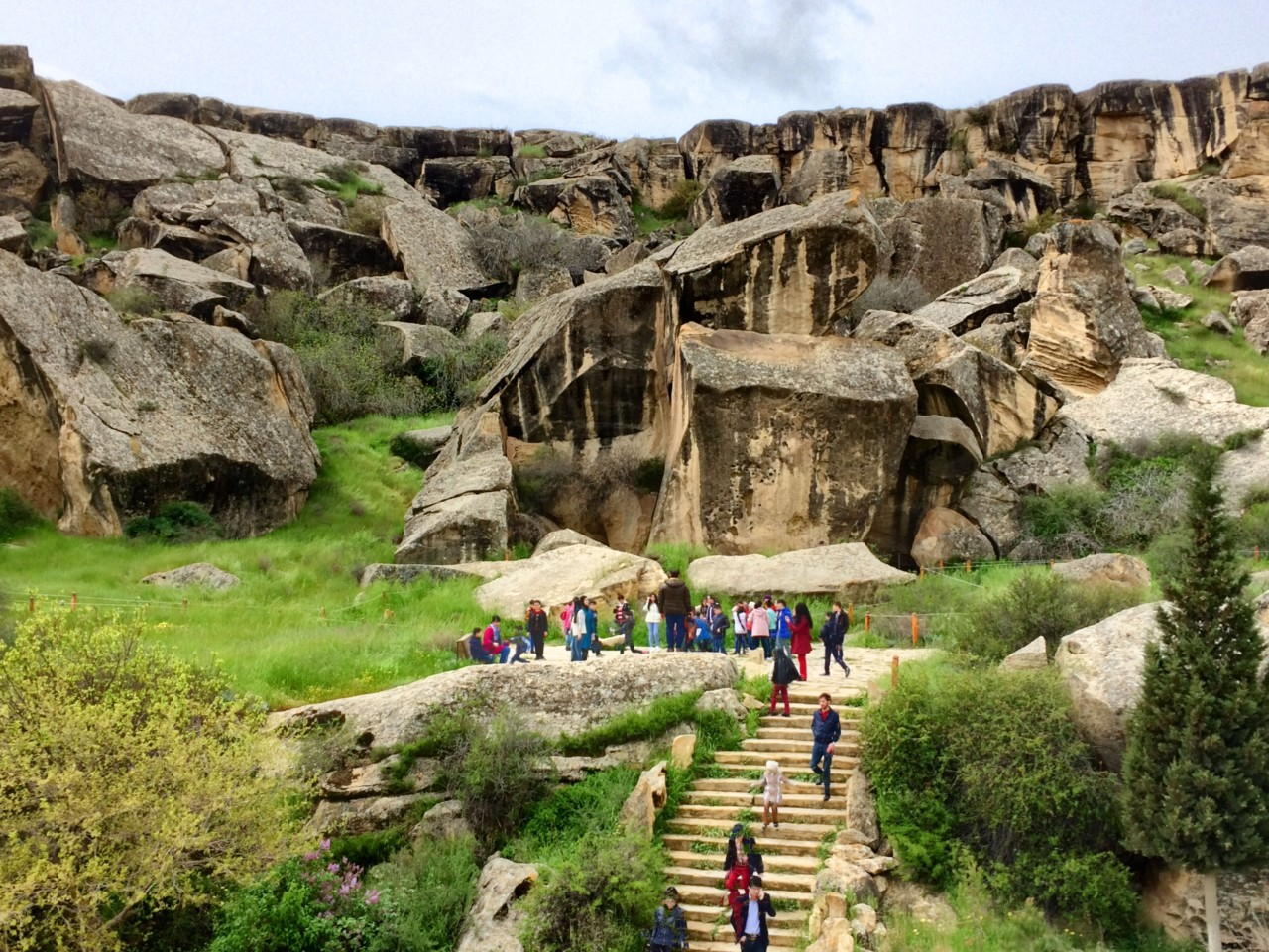 Gobustan petroglyph site