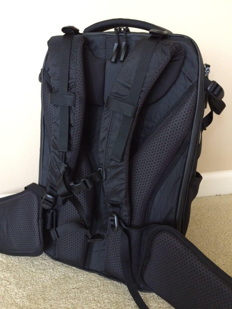 Tortuga Outbreaker Backpack back panel