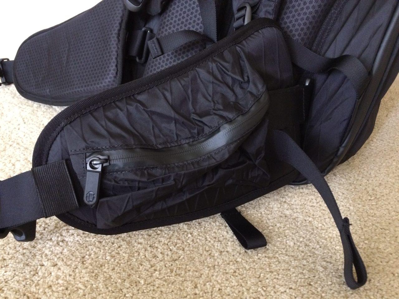 Tortuga Outbreaker Backpack hip belt