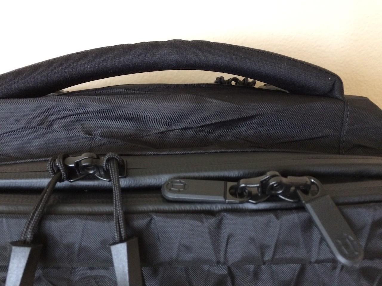Tortuga Outbreaker Backpack locking zippers