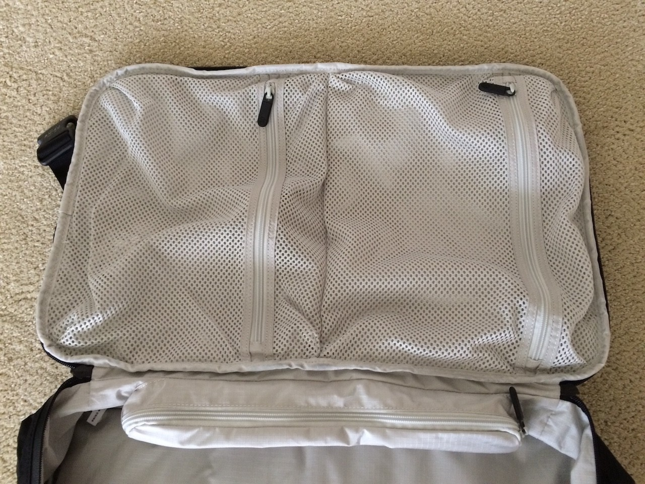 Tortuga Outbreaker Backpack main door compartments