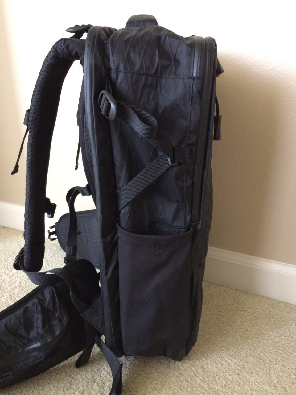 Tortuga Outbreaker Backpack side view