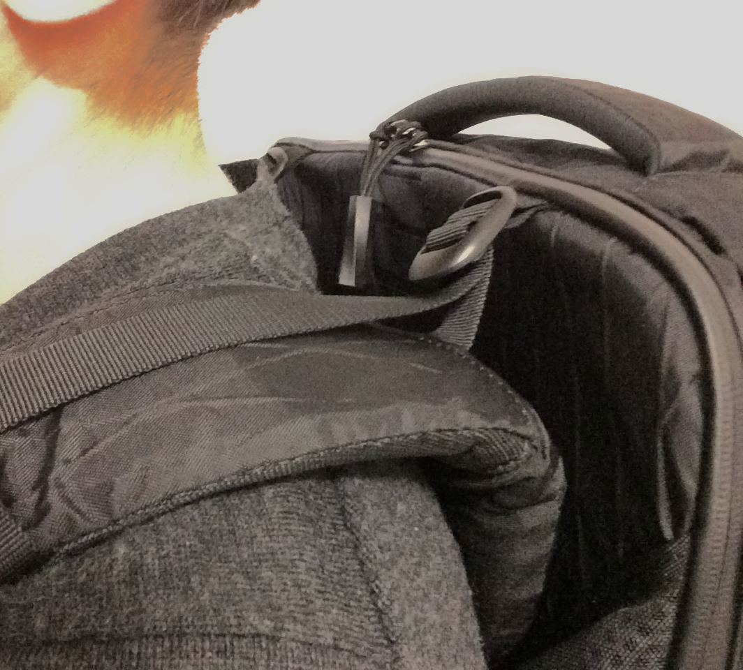 Tortuga load lifter strap issue