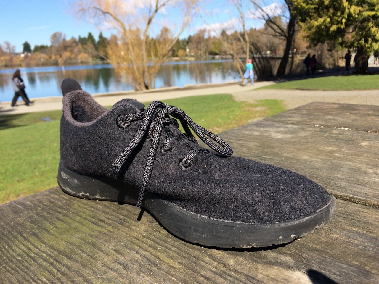 Allbirds front angle view