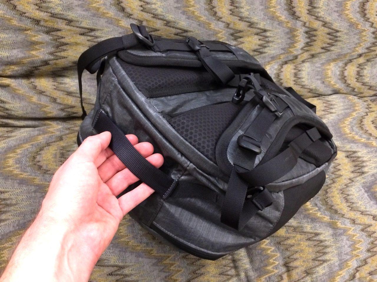 Tortuga Homebase Backpack bottom strap
