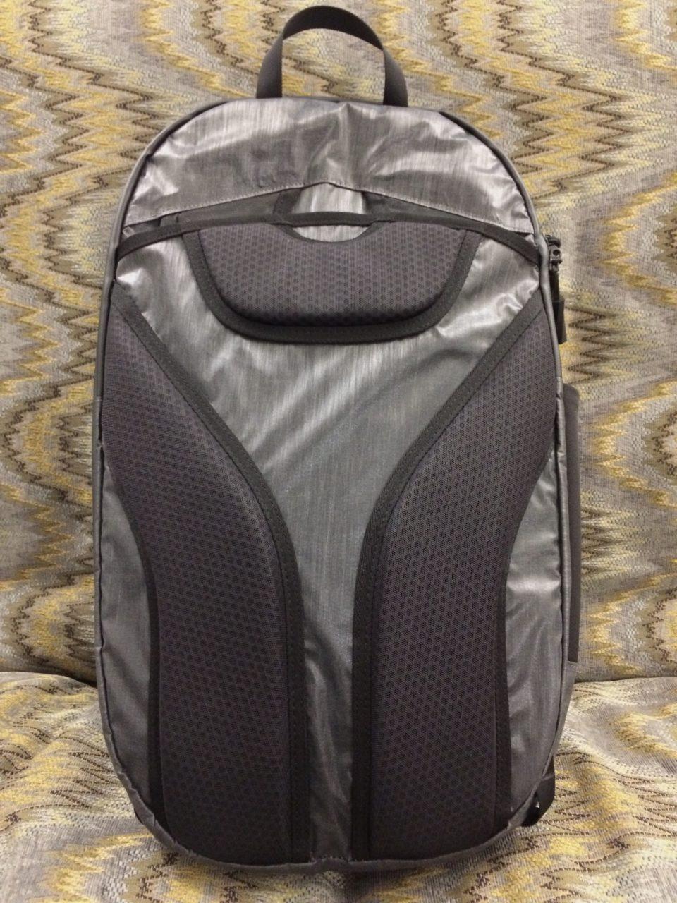 Tortuga Homebase Backpack straps stowed
