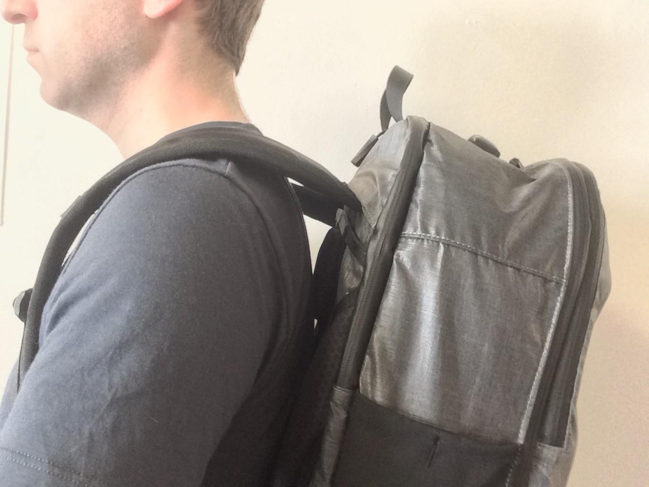 Tortuga Homebase Backpack worn low