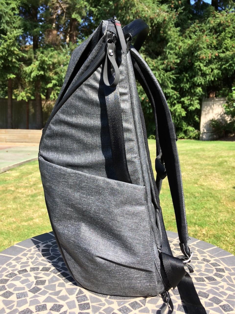 Peak Design Everyday Backpack side view