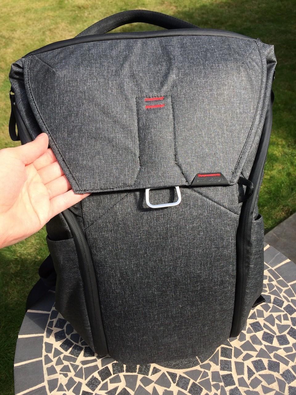 Peak Design Everyday Backpack top flap