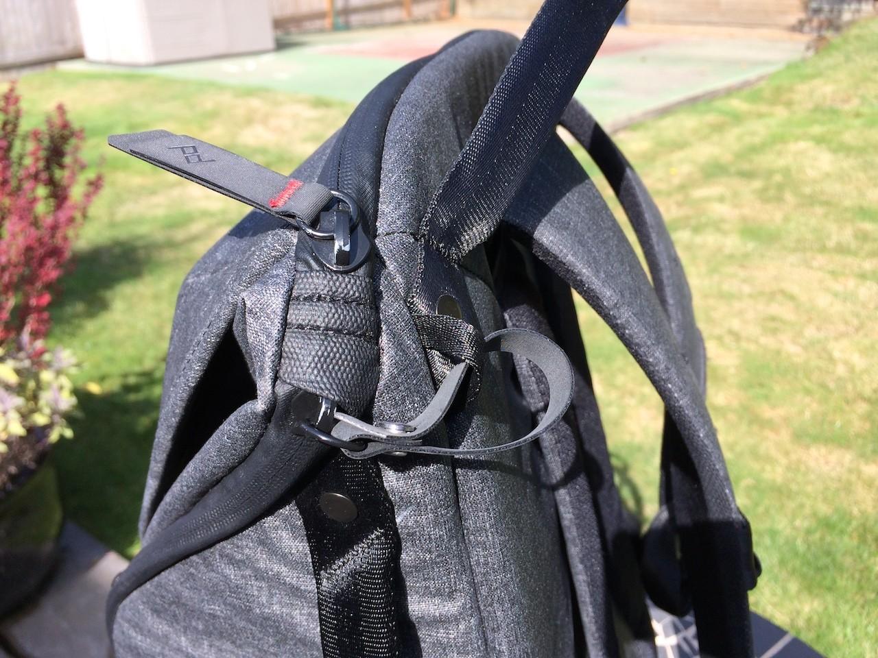 Peak Design Everyday Backpack zipper lock closed
