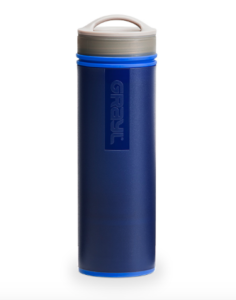 Grayl Ultralight Portable Water Filter, blue