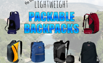 The Best Lightweight Packable Backpacks