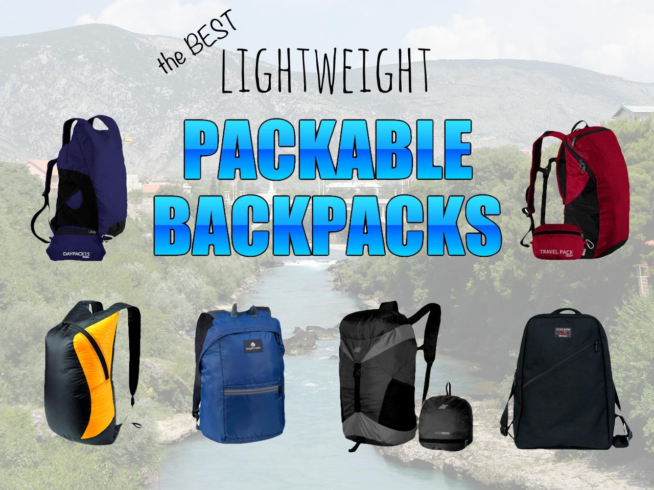 Best lightweight packable backpacks – Snarky Nomad 5194a2b753774