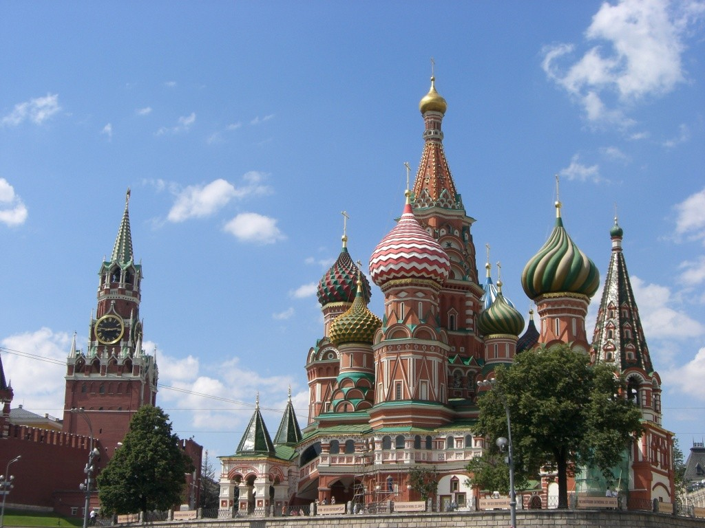 St. Basil's, Moscow, Russia