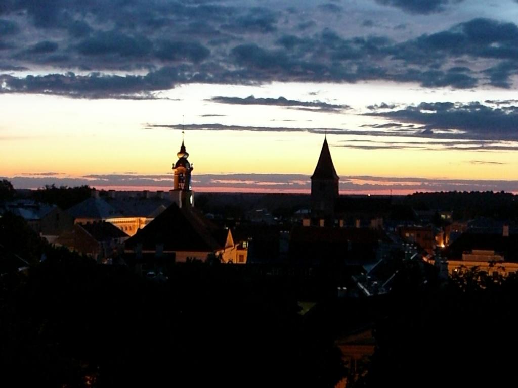Tartu sunset, Estonia.